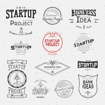 Startup project badgesfor any use