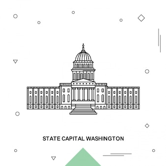 State capital washington