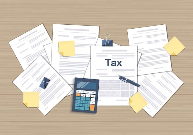 세금 환급의 주 정부 세금 계산