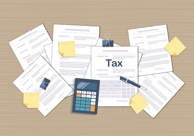 State government taxation calculation of tax return