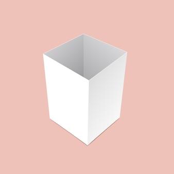 Коробка канцелярских принадлежностей макет