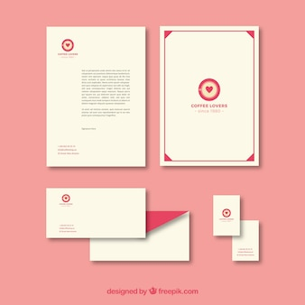 Stationery for coffee lovers