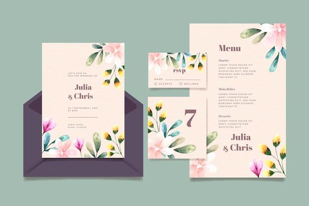 結婚式の文房具コレクション