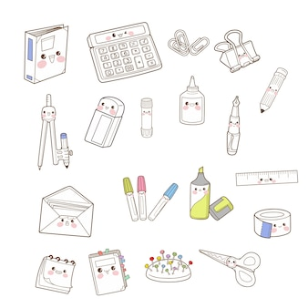 Stationery cute character