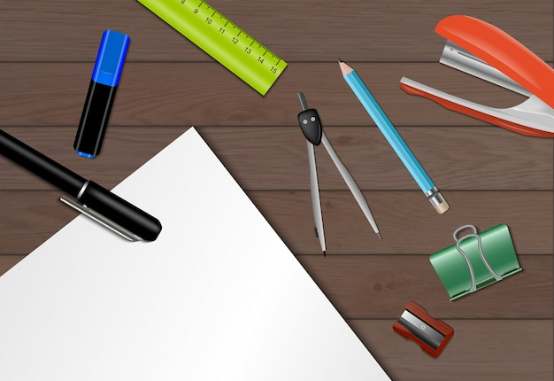Stationery paper background