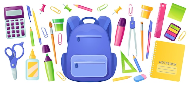 Stationery for school