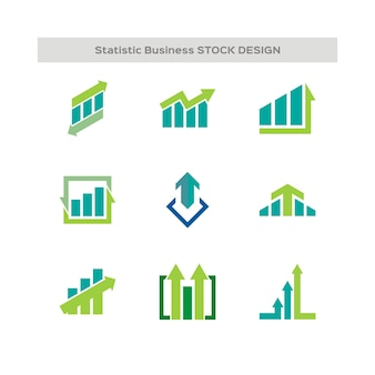 Statistic business logo