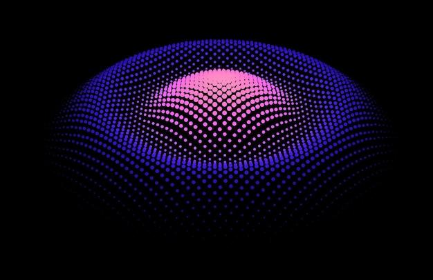 Статистический поток от динамических частиц