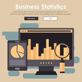 Статистика и бизнес-отчет