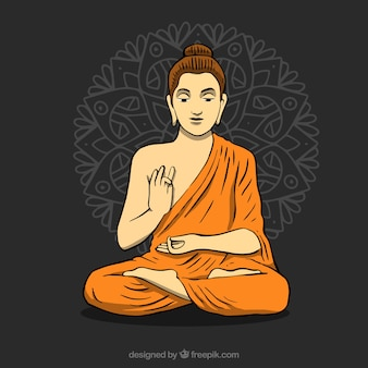 Statue of buddha background