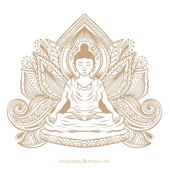 Statue of buddha background