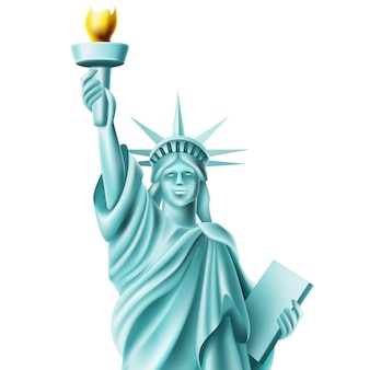 Statue of liberty monument in america famous landmark
