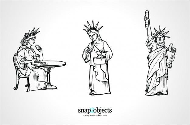 Statue of liberty new york symbol