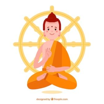 仏像の背景