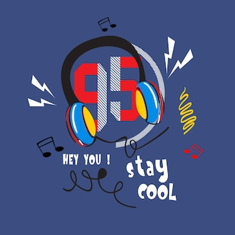 Stay cool t shirt vector art