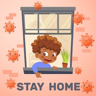 Stay home during epidemic