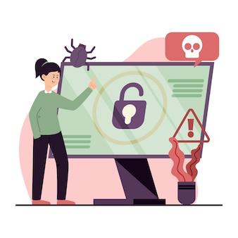 Концепция кражи данных