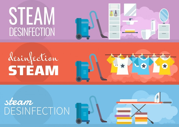 Steam disinfection