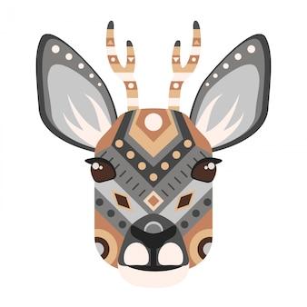 Steampunk deer head