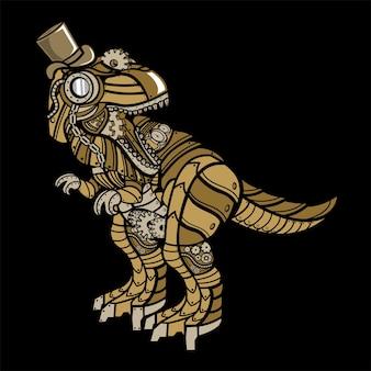 Steampunk t rex