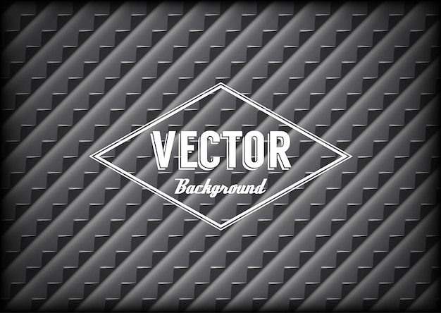 Steel grid background with sharp teeth and label