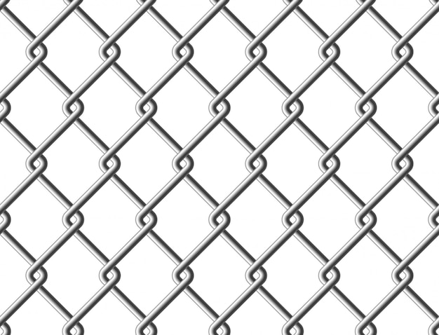 Steel mesh metal fence seamless structure