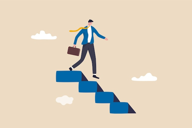 Step down from ceo of company, retire from work or career concept.