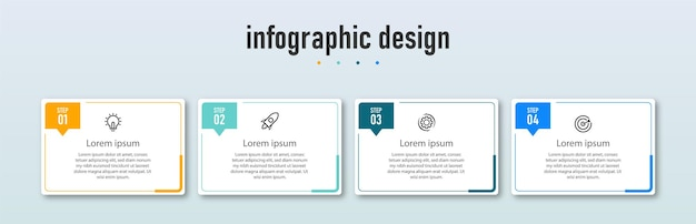 단계 타임 라인 인포 그래픽 디자인 서식 파일