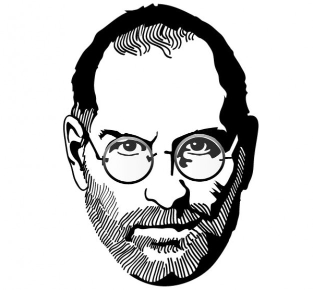 Steve jobs vector tribute