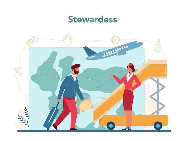 Концепция стюардессы
