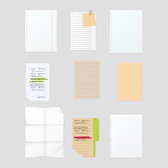 Sticker notes set