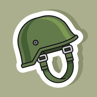 Наклейка армейского шлема