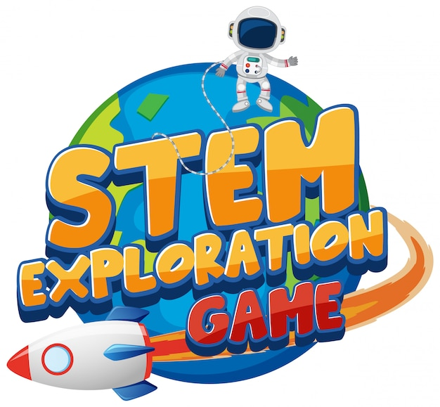 Sticker template for word stem exploration game