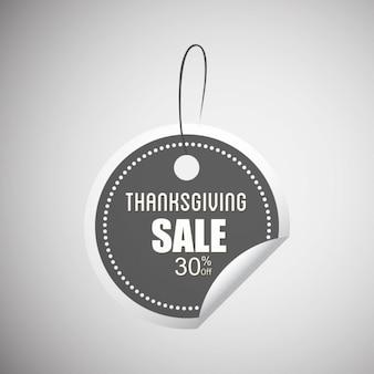Sticker, thanksgiving
