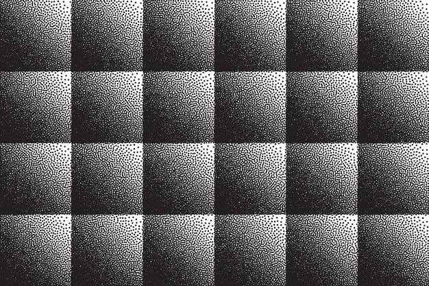 Stippled 3d abstract background retro dotwork texture