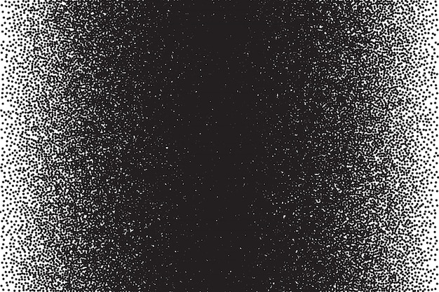 Stippled texture dotwork vector background