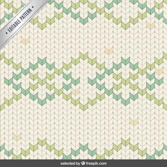 스티치 다각형 파스텔 패턴