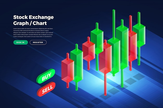 Stock exchange background