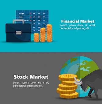 Stock financial market design