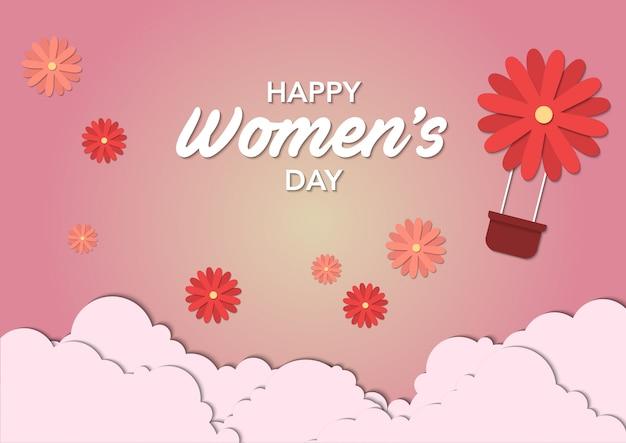 스톡 벡터 국제 여성의 날 템플릿
