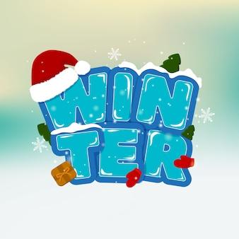 Stock vector winter illustration