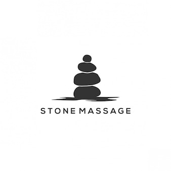 Stone massage logo