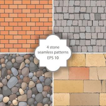 Stone seamless patterns