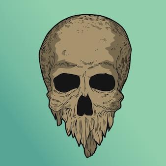 石の頭蓋骨