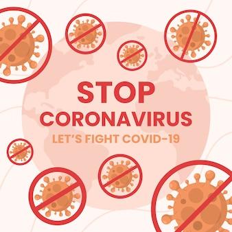 Ferma la progettazione del coronavirus