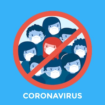 Stop coronavirus with people