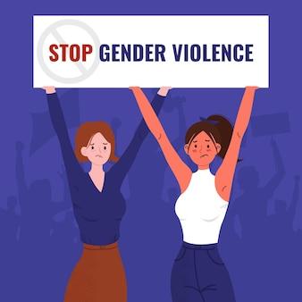 Stop gender violence