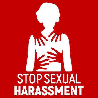 Stop sexual harassment. gender equality