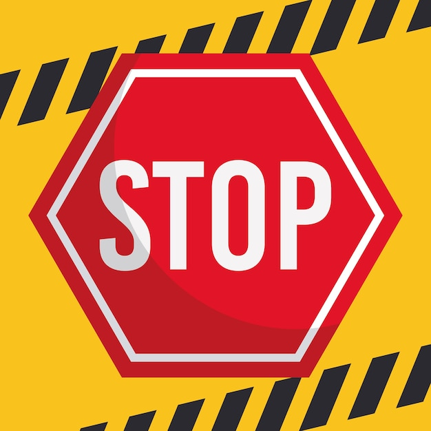 stop sign vectors photos and psd files free download rh freepik com stop sign vector image stop sign vector image