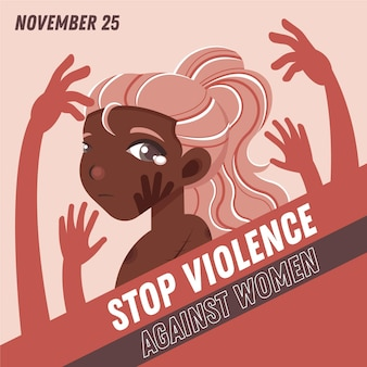 Stop violence against women awareness month